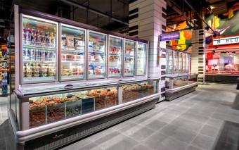Supermarkt vriesmeubelen van safecold B.V.