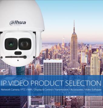 Dahua productcatalogus 2016 & V3 IP VIDEO PRODUCT SELECTION