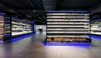 Supermarkt koelmeubelen van safecold