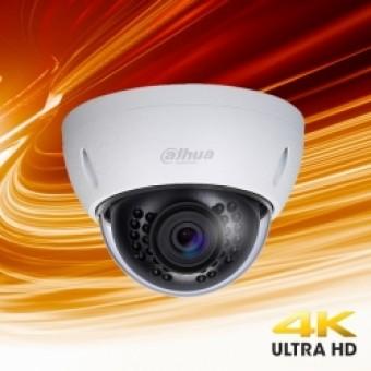 Dahua HDBW4800EP 4K D/N IR 2 Axis Vandaal Dome 4mm lens