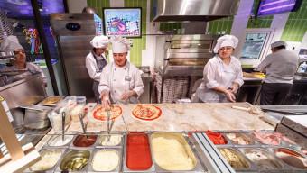 DIAGONAL-pizza koelmeubelen van safecold B.V.