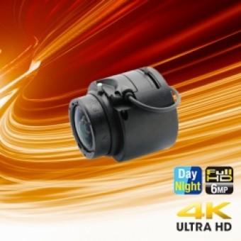 Fujinon 1/1.8 Dag/Nacht 6 Megapixel Auto Iris Lens