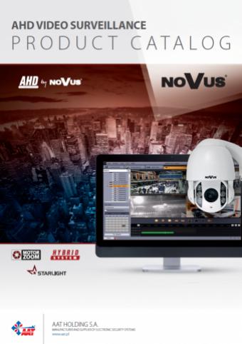 COMPLETE NOVUS VIDEO SURVEILLANCE NEW PRODUCT CATALOGS!