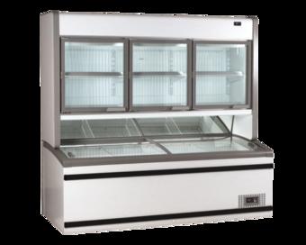 Supermarkt koelkasten vriesmeubelen Plug-in meubelen van Safecold B.V.