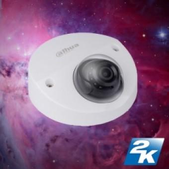 Dahua HDBW4421FP-AS 2K D/N 3  Axis  Vandaal Dome 2.8mm lens