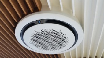 Nieuwe Samsung 360 cassette airconditioning